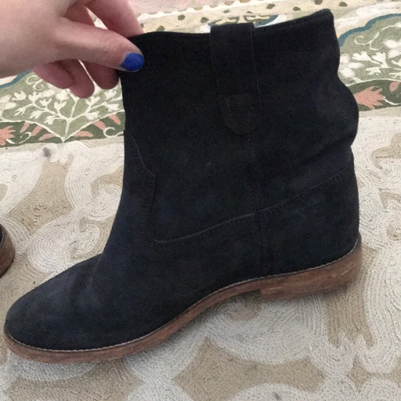 Isabel Marant Crisi Suede Ankle Boot